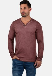 Solid - TINOX - Long sleeved top - wine red - 0