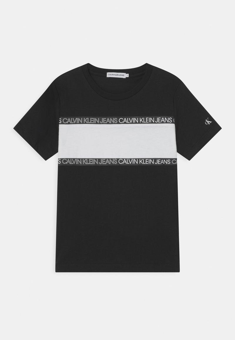 Calvin Klein Jeans - Triko spotiskem - black