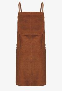 Object - SUEDE DRESS - Day dress - sugar almond - 1