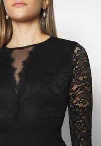 WAL G. - ANALIA LONG SLEEVE MIDI DRESS - Cocktail dress / Party dress - black - 5