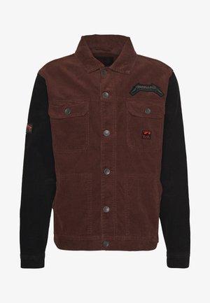 MASTER OF PUPPET - Summer jacket - maroon