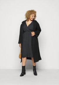 Zizzi - MCLARA DRESS - Day dress - black - 1