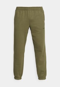 adidas Originals - BASICS UNISEX - Spodnie treningowe - olive cargo - 3