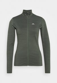 J.LINDEBERG - LAURYN  - Training jacket - thyme green melange - 0