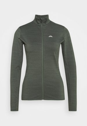 LAURYN  - Training jacket - thyme green melange