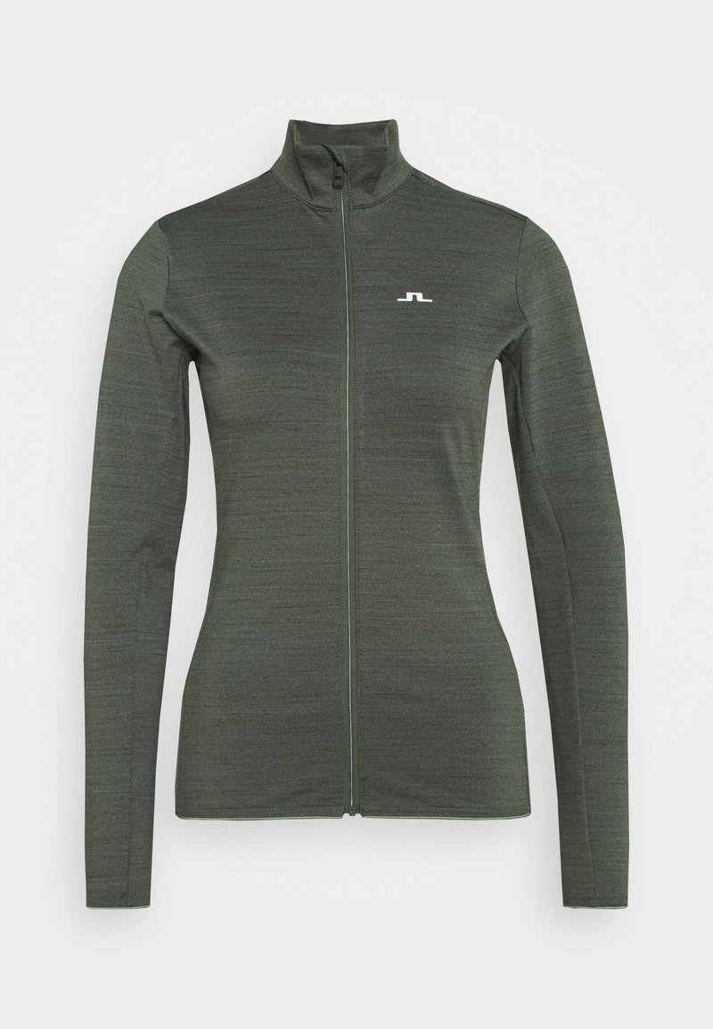 J.LINDEBERG - LAURYN  - Training jacket - thyme green melange