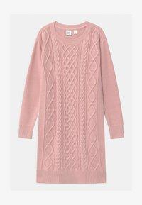 GAP - GIRL - Gebreide jurk - pure pink - 0