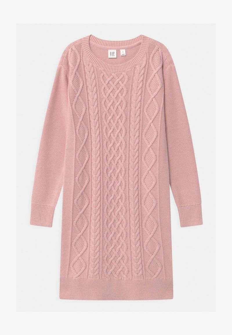 GAP - GIRL - Gebreide jurk - pure pink