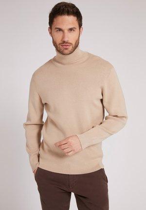 HOHER KRAGEN - Sweatshirt - creme