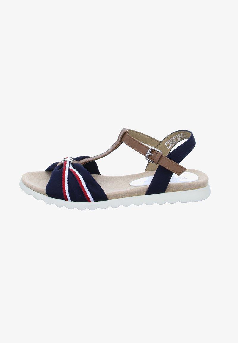 TOM TAILOR - Sandals - blau