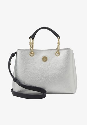 CORE SATCHEL METALLIC - Håndveske - grey