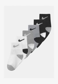 Nike Sportswear - TODDLER 6 PACK - Socks - black/wolf grey - 0