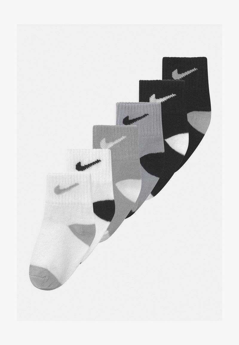 Nike Sportswear - TODDLER 6 PACK - Socks - black/wolf grey