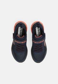 Skechers - GLIDE STEP - Sneakers laag - navy/blue/orange/black - 3