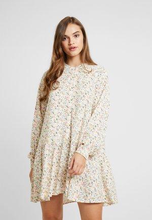 ENART DRESS - Blusenkleid - beige/multi-coloured