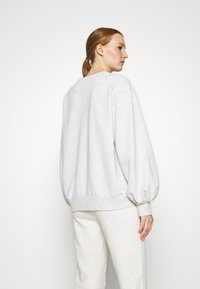 Abercrombie & Fitch - LOGO PUFF SLEEVE CREW - Sweatshirt - grey - 2