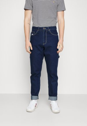 RETRO RINSED PANTS UNISEX - Relaxed fit jeans - dark blue