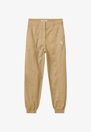 Trousers - travertine