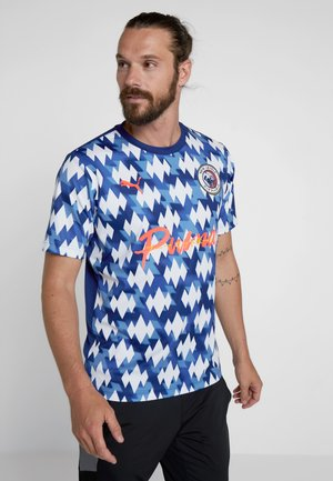 SHOWDOWN  - T-Shirt print - olympian blue/white