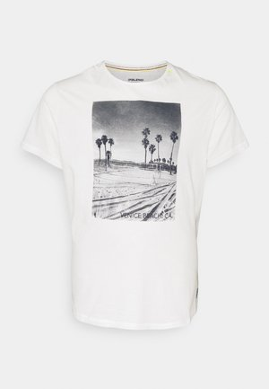 TEE - T-shirt print - snow white