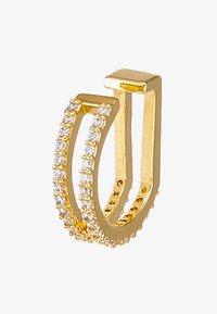 WISHBONE EAR CUFF - Earrings - gold-coloured