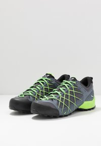 Salewa - MS WILDFIRE - Bergschoenen - flintstone/fluo green - 2