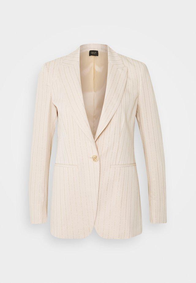 GIACCA - Halflange jas - sandy beige/gold