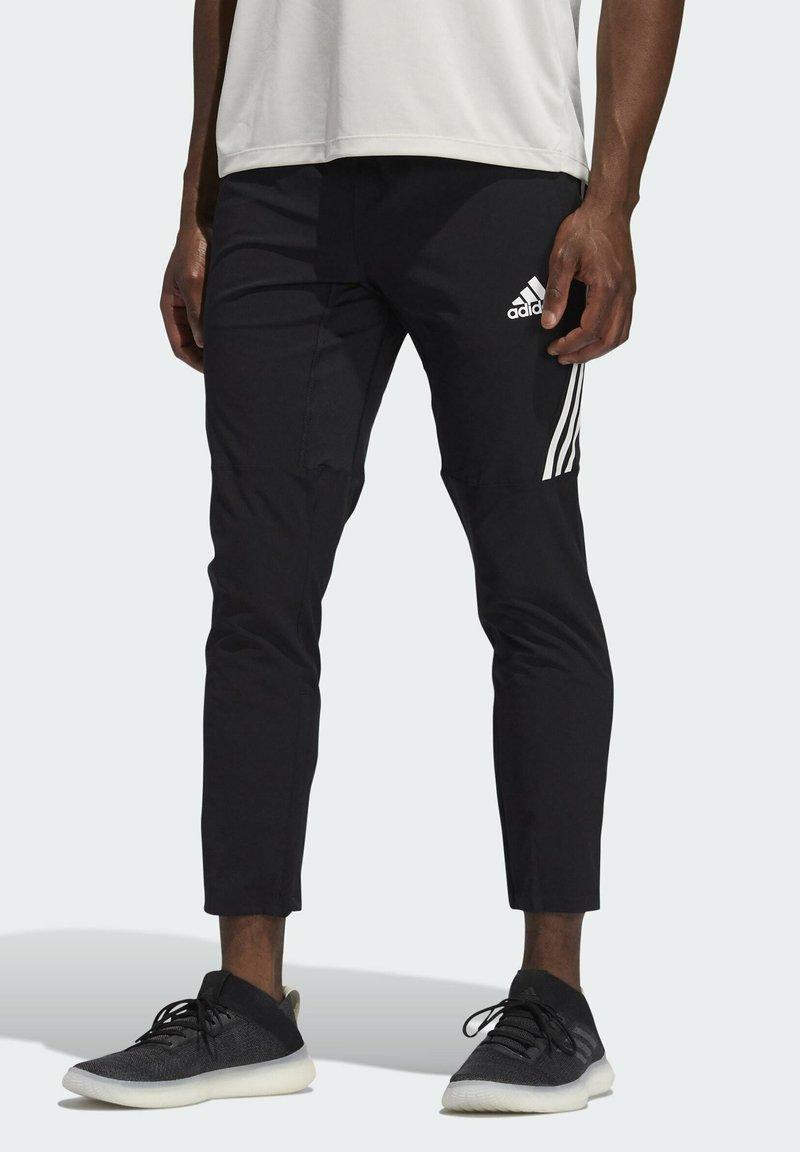 adidas Performance - AERO 3S PNT - Spodnie treningowe - black/white