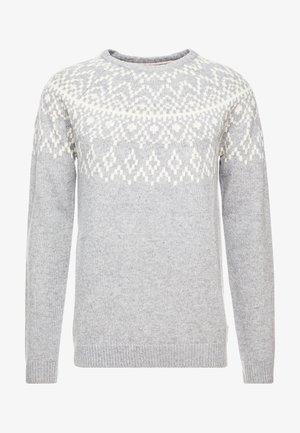 ROUNDED - Stickad tröja - grey