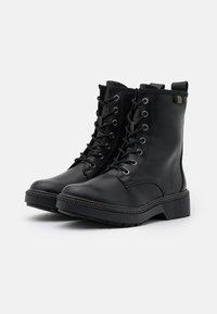 Tamaris - BOOTS - Lace-up ankle boots - black - 2