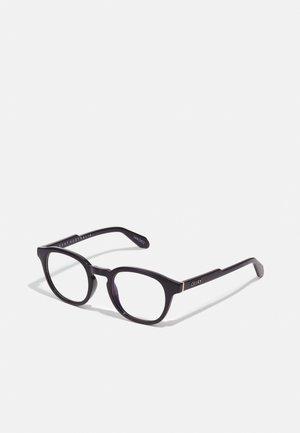 Sunglasses - black/clear blue light