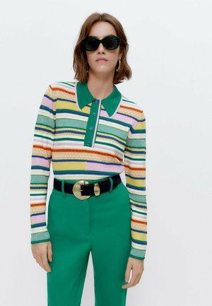 Polo shirt - multi/coloured