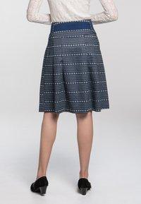 Spieth & Wensky - A-line skirt - dunkelblau - 3