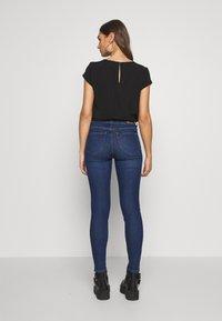 Lee - SCARLETT HIGH - Jeansy Skinny Fit - dark-blue denim - 2
