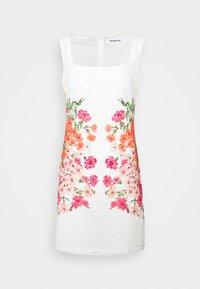 Desigual - SANDRA - Sukienka koktajlowa - white - 0