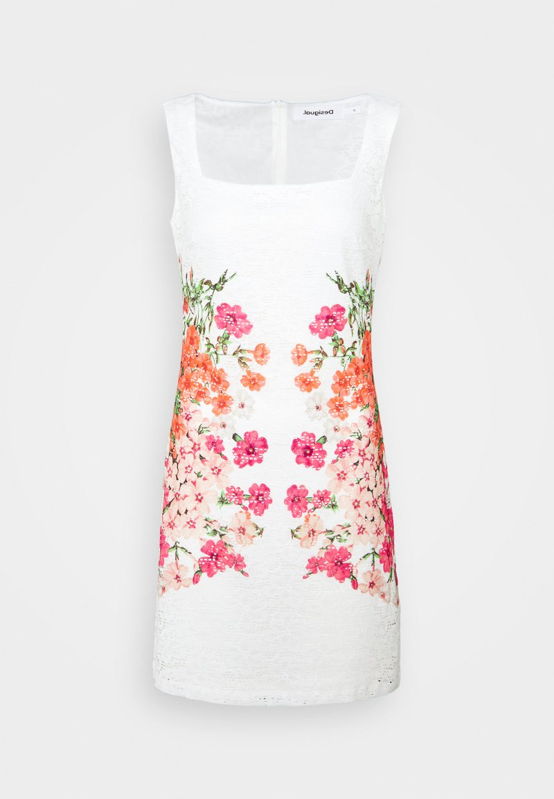 Desigual - SANDRA - Sukienka koktajlowa - white