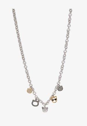 CHOUPETTE MULTI CHARM  - Collier - silver-coloured