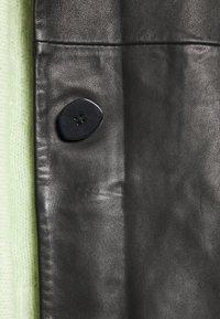 Holzweiler - FLORA JACKET  - Leather jacket - black - 4