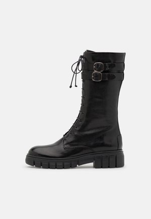 ASTER - Lace-up boots - ginger black