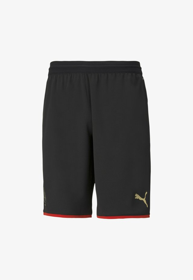 STADE RENNAIS ANNIVERSARY FOOTBALL - Korte broeken - black-red-gold