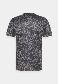 adidas Performance - TEE MEN - Camiseta estampada - grey four - 7