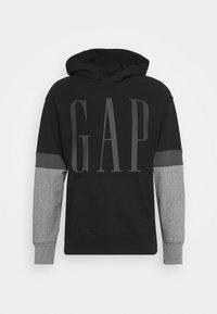 GAP - LOGO - Sweatshirt - true black - 4