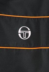 sergio tacchini - BERRY TRACKSUIT - Tracksuit - black/botanical - 6