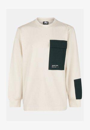 EDDY - Pitkähihainen paita - white