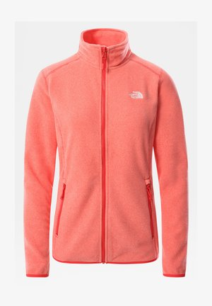 W 100 GLACIER FULL ZIP - EU - Forro polar - horizon red/pearl blush