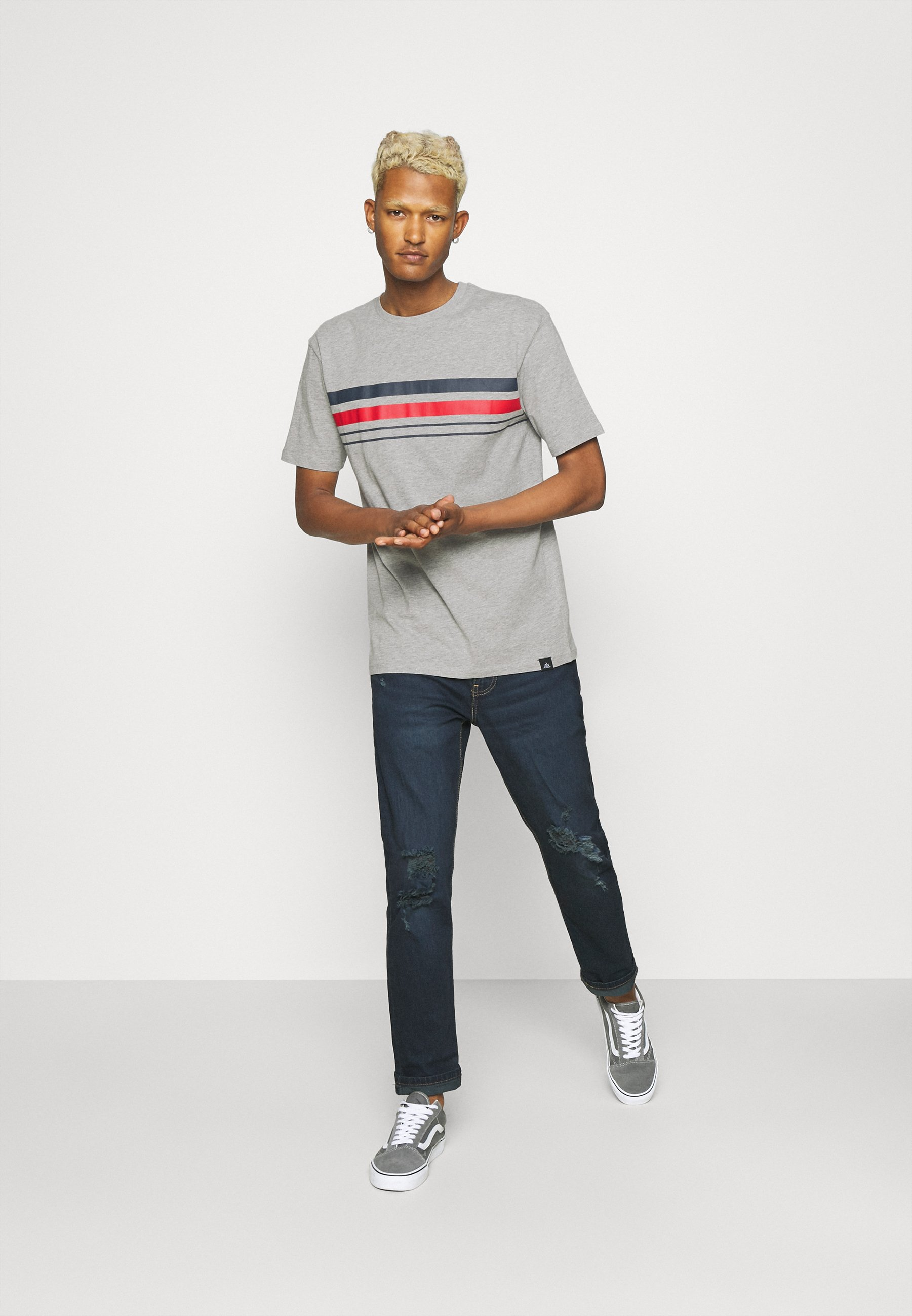 Men CHEST STRIPE 2 PACK - Print T-shirt