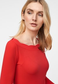 comma - Long sleeved top - red - 3
