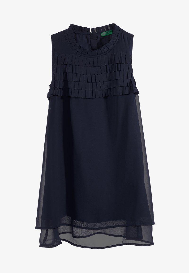 Benetton - DRESS - Cocktailjurk - dark blue