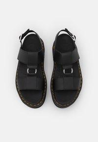 Dr. Martens - FRANCIS - Platform sandals - black hydro - 5