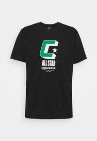 Converse - BALL TEE - Print T-shirt - black - 3